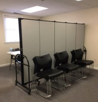 Portable Room Dividers | Folding Temporary Walls | Screenflex