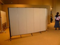 Create Temporary Walls to Meet Your Facility's Needs