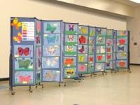 Creative Ways To Display Student Artwork - Screenflex