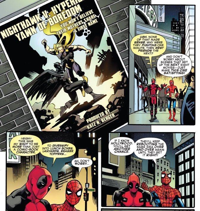 Image result for deadpool comics establishing shot