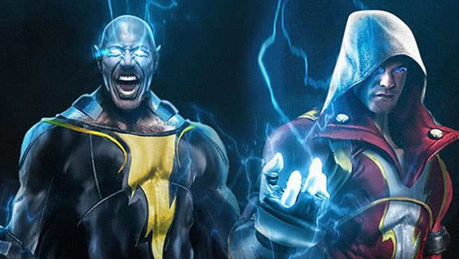 SHAZAM Movie Reportedly Wont Feature Dwayne Johnsons