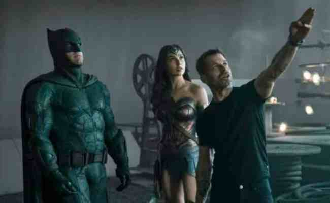 Justice League Producer Says Film Is About 80 Zack Snyder S