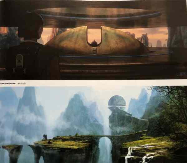 Star Wars Last Jedi Concept Art