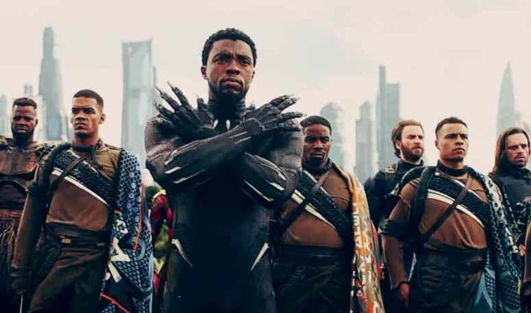 Image result for black panther infinity war