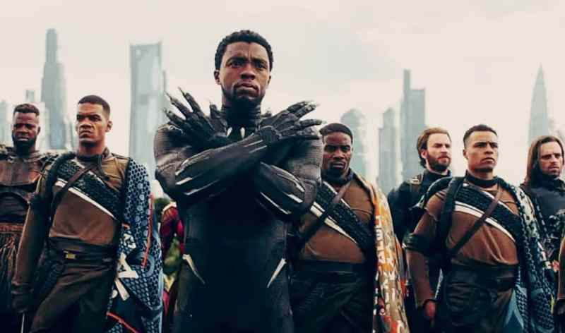 Image result for black panther infinity war