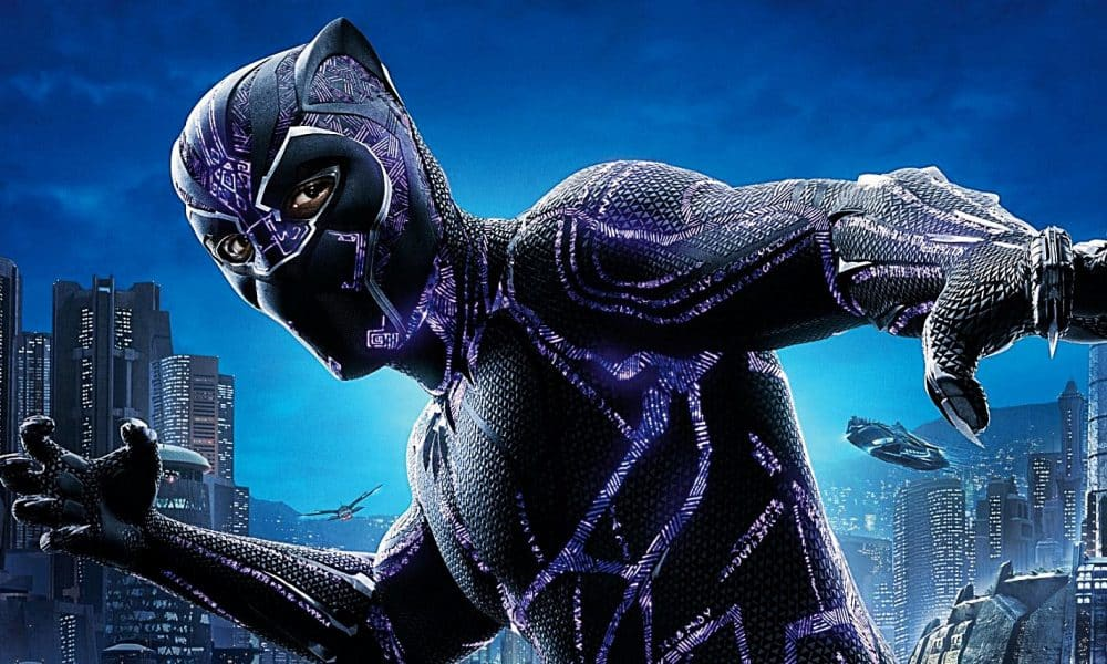 Hidden Text On Black Panther Suit Actually Has A Pretty