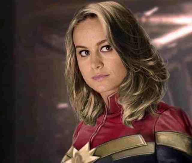 Captain Marvel Trailer Brie Larson