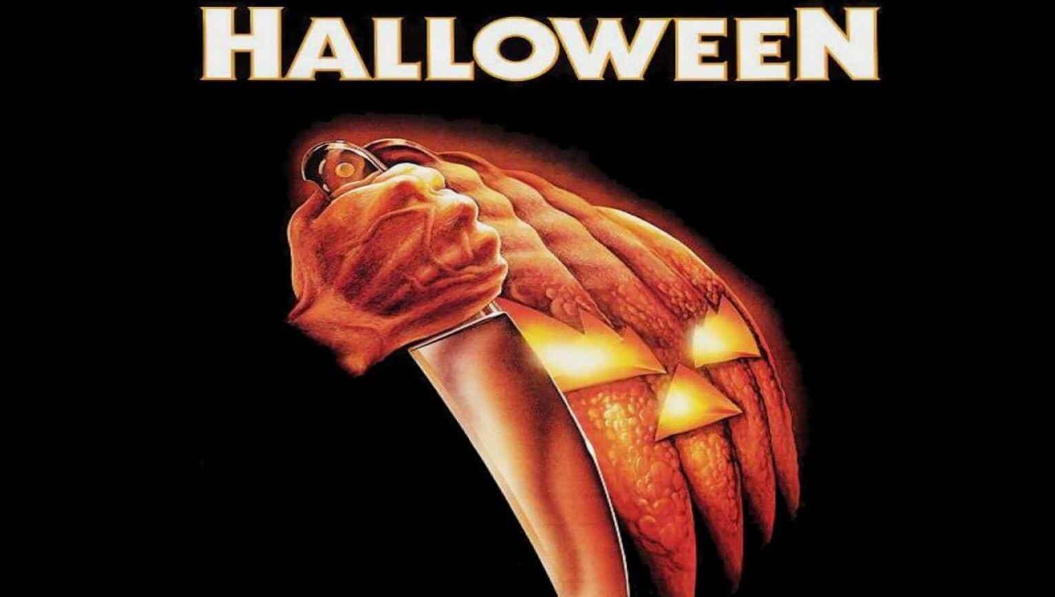 original halloween poster features
