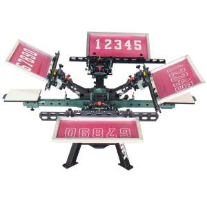 Screen Printing Numbering Systems