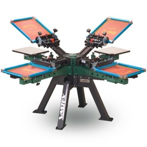 Manual Screen Printing Presses