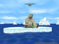 3d arctic bear screensaver