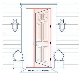 Phantom Screens Professional Over height Door