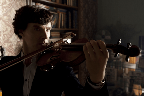 Benedict Cumberbatch as Sherlock Holmes. Photo BBC