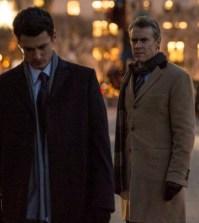 (l-r) Wes Brown as Julian Bowers, Tate Donovan as Edward Bowers -- (Photo by: David Giesbrecht/NBC)