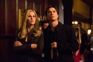 """Claire Holt and Ian Somerhalder in """"Bring it On."""" Image © CW Network"""