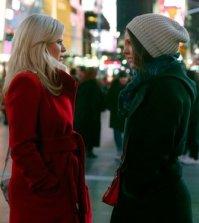 (l-r) Megan Hilty as Ivy Lynn, Katharine McPhee as Karen Cartwright -- (Photo by: Will Hart/NBC)