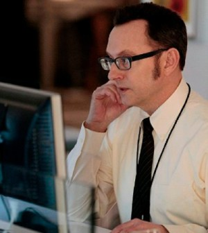 Michael Emerson as Finch. Image © CBS