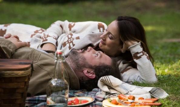 Silas Weir Mitchell as Monroe and Bree Turner as Rosalee Calvert -- Photo: Scott Green/NBC -- © 2013 NBC