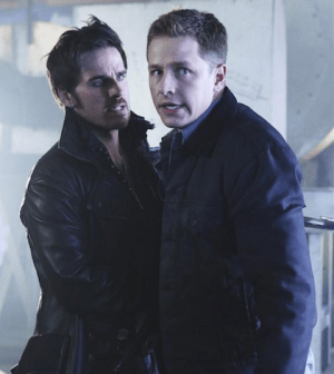 Colin O'Donoghue (L) and Josh Dallas in Once Upon a Time. Image © ABC