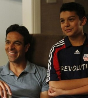 Pictured: T.J. Ramini as Vikram Desai, Anthony Keyvan as a young Danny Desai -- Photo by: Kelsey McNeal/ABC Family