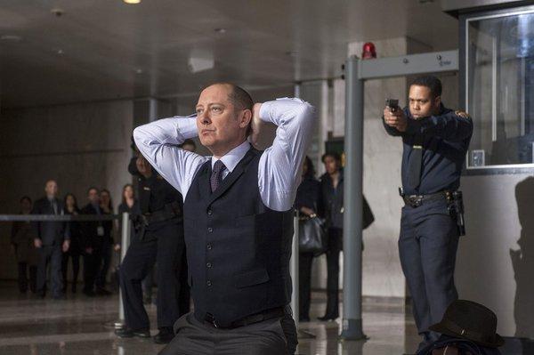 "Pictured: James Spader as ""Red"" Raymond Reddington -- (Photo by: David Giesbrecht/NBC)"