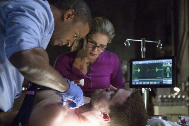 Felicity Smoak, Arrow and Diggle
