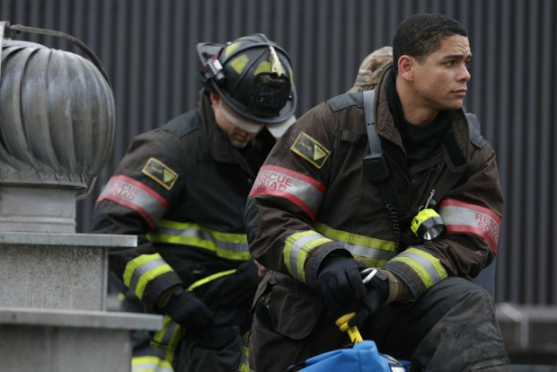 Pictured: Charlie Barnett as Peter Mills -- (Photo by: Elizabeth Morris/NBC)