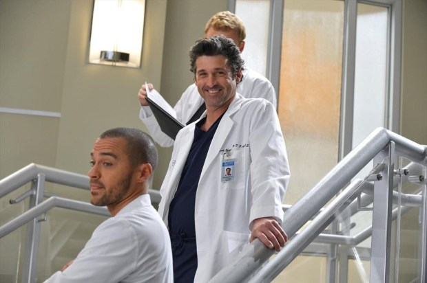 (ABC/Eric McCandless) JESSE WILLIAMS, PATRICK DEMPSEY, KEVIN MCKIDD (OBSCURED)