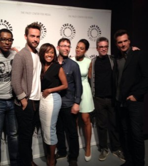 Some of the Sleepy Hollow cast and crew at Paleyfest 2014.