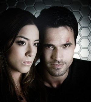 Agents Of SHIELD Stars Chloe Bennet As Skye And Brett Dalton Agent Grant Ward ABC Justin Lubin
