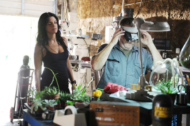 Pictured: Vanessa Ferlito as Charlie DeMarco -- (Photo by: Jeff Daly/USA Network)