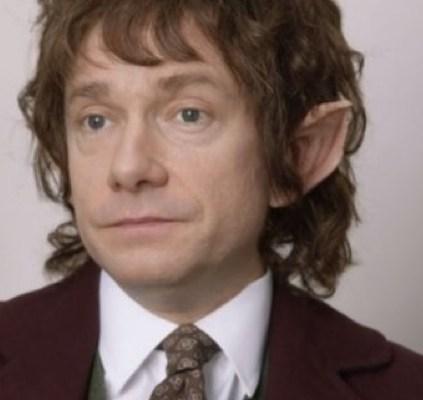 Martin Freeman as Tim/Bilbo