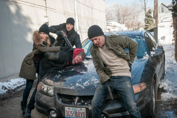 Pictured: (l-r) Sophia Bush as Erin Lindsay, Jesse Lee Soffer as Jay Halstead, Jon Seda as Antonio Dawson -- (Photo by: Matt Dinerstein/NBC)