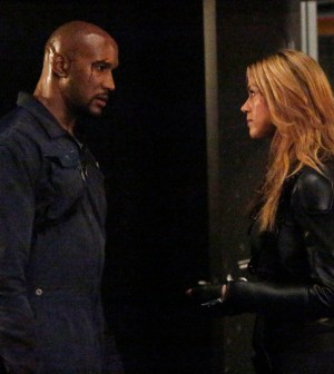 (ABC/Kelsey McNeal) HENRY SIMMONS, ADRIANNE PALICKI