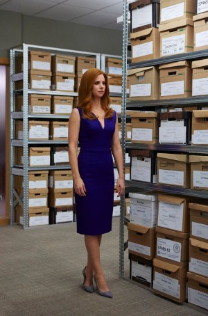 Pictured: Sarah Rafferty as Donna Paulsen -- (Photo by: Shane Mahood/USA Network)