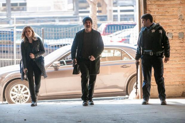Pictured: (l-r) Sophia Bush as Erin Lindsay, Elias Koteas as Alvin Olinsky -- (Photo by: Matt Dinerstein/NBC)