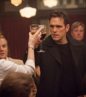 "WAYWARD PINES:  Ethan(Matt Dillon) has some information to share with the town in the ""One of Our Senior Realtors Has Chosen to Retire"" episode of WAYWARD PINES airing Thursday, June 4 (9:00-10:00 PM ET/PT) on FOX.  