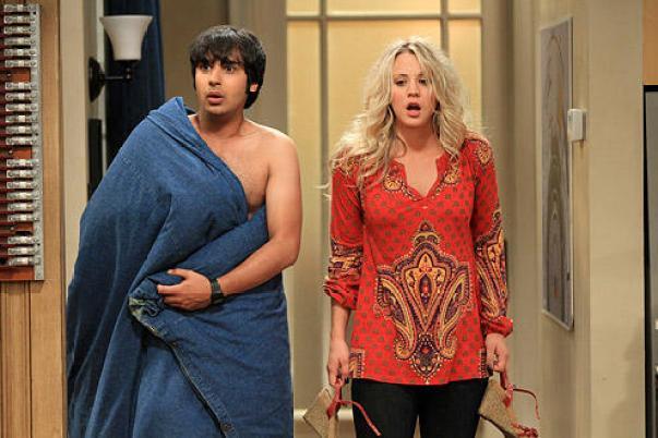 Raj and Penny   The Big Bang Theory