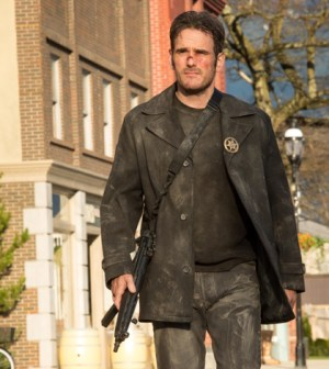 "Ethan (Matt Dillon) patrols Main Street in ""Cycle."" 