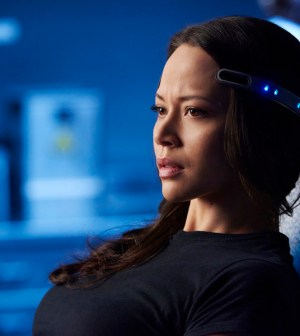 Pictured: Melissa O'Neil as Two -- (Photo by: Steve Wilkie/Prodigy Pictures/Syfy)