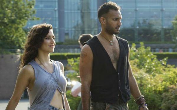 Pictured: (l-r) Jade Tailor as Kady, Arjun Gupta as Penny