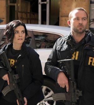 Pictured: (l-r) Jaimie Alexander as Jane Doe, Sullivan Stapleton as Kurt Weller -- (Photo by: Peter Kramer/NBC)