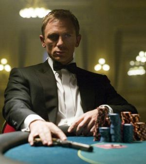 Daniel Craig as James Bond. Photo © MGM/Columbia Pictures