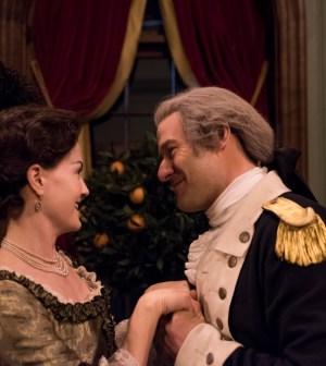 Ian Kahn as General George Washington. Photo Credit: Antony Platt/AMC