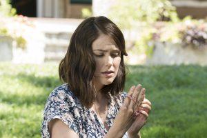 "THE BLACKLIST -- ""Mato #66"" Episode 402 -- Pictured: Megan Boone as Elizabeth Keen -- (Photo by: Virginia Sherwood/NBC)"