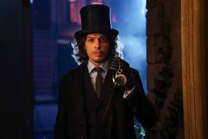 GOTHAM: Benedict Samuel in the Mad City: Look Into My Eyes episode of GOTHAM | Co. Cr: Jessica Miglio/FOX.