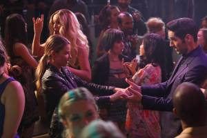 "LUCIFER: L-R: Lauren German and Tom Ellis in the ""Homewrecker"" episode of LUCIFER | Co. Cr: Michael Courtney/FOX."