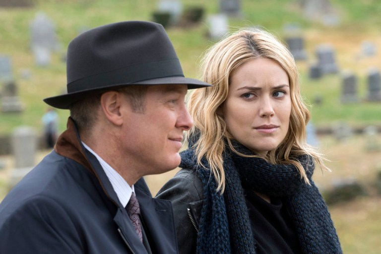 James Spader as Red Reddington, Megan Boone as Liz Keen