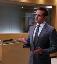 Gabriel Macht as Harvey Specter -- (Photo by: Shane Mahood/USA Network)