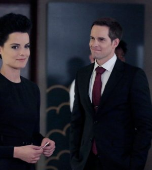 Jaimie Alexander as Jane Doe, Jonathan Patrick Moore as Oliver -- (Photo by: Giovanni Ruffino/NBC)